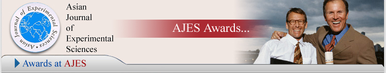 AJES -- Asian Journal of Experimental Sciences
